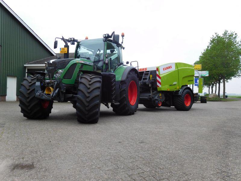 Afgeleverd: Fendt 720 en Claas Rollant 455
