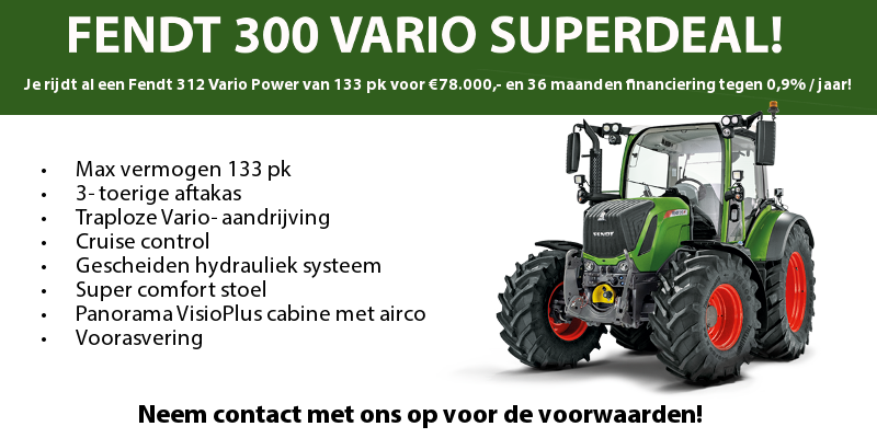 FENDT 300 VARIO SUPERDEAL!