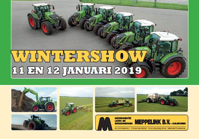 WINTERSHOW 11 EN 12 JANUARI 2019